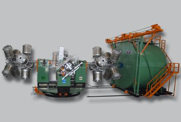 Four Arm Bi-Axial Machines